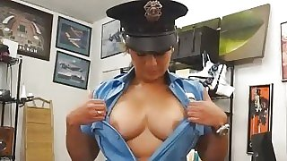 Latina police officer..