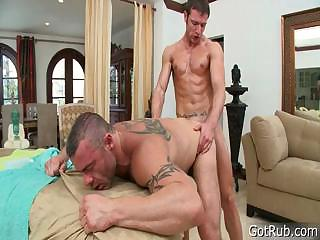 Stud gets dick sucked..